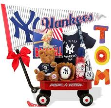 baseball gift basket baby gift baskets personalized unique new baby gift