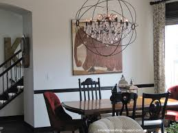 Chandeliers For Dining Room Dining Room Enchanting Orb Chandelier With Six Lights For