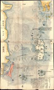 Map Of Taiwan File 1781 Japanese Temmei 1 Manuscript Map Of Taiwan And The