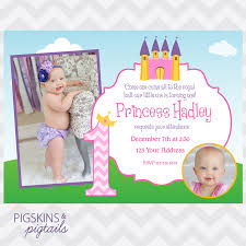 first birthday princess invitations iidaemilia com