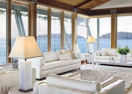 Coastal Decorating Coastal Decorating Ideas Blue And Gold Rug Navy Blue Velvet Sofa
