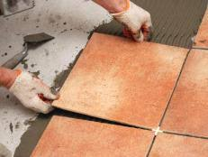 Tiling A Bathroom Floor how to install tile on a bathroom floor how tos diy