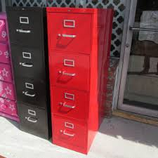 furniture interesting office storage design with exciting red
