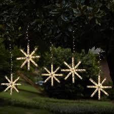 outdoor hanging snowflake lights outdoor light innovative snowflake lights outdoor string