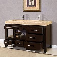 60 Inch Bathroom Vanity Double Sink by Legion 60 Inch Double Sink Rustic Bathroom Vanity Black Marble Top
