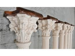 reclaimed cast iron decorative fluted support column pillar post