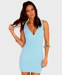 blue bodycon dress baby blue bodycon dress naf dresses