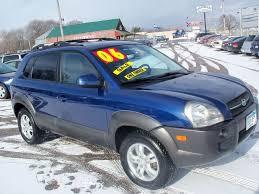 hyundai tucson 2006 for sale 2006 hyundai tucson gls 4dr suv in elk river mn country side car