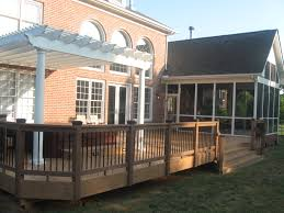covered deck archadeck of charlotte patio porch and enclosures