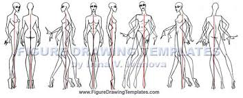 How To Draw Female Anatomy How To Draw Female Figure With Figure Drawing Templates