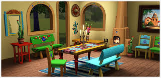 Mexican Dining Room Furniture Free Sims 3
