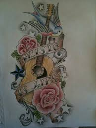 tattoo trends acoustic guitar tattoos for men bing images