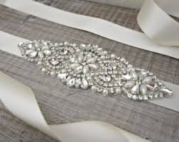 wedding dress belts wedding belts sashes etsy