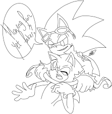 scourge and sonic by melliehel on deviantart