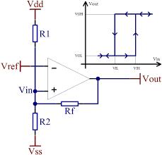 component schmitt trigger using op amp op amp how do i make an