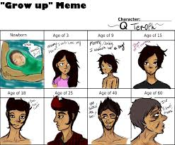 Grow Up Meme - grow up meme q teroph by chaos kat on deviantart