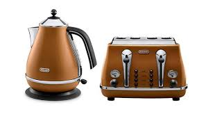 Toaster And Kettle Set Delonghi Blue Kettle And Toaster Sets Large Image For Gallon Brew Kettle