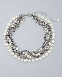 black jewelry necklace images Shop women 39 s jewelry white house black market jpg