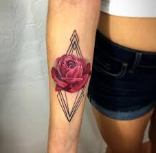25 trending rose tattoo on forearm ideas on pinterest flower