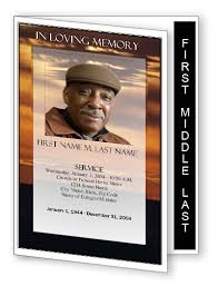 funeral program ideas graduated fold funeral program templates step fold