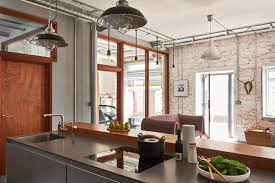 warehouse living the bulthaup kitchen island used for this
