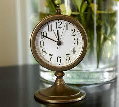 Pottery Barn Outdoor Clock White Station Clock Pottery Barn