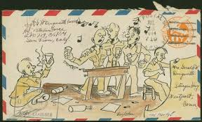 Decorated Envelopes Correspondence From The Home Front And The Front Lines