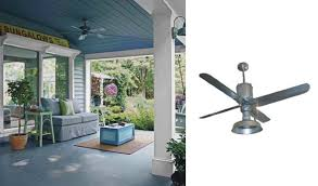 galvanized metal ceiling fans add industrial appearance blog