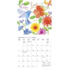 live love laugh cavallo 2018 mini wall calendar 9781477032862