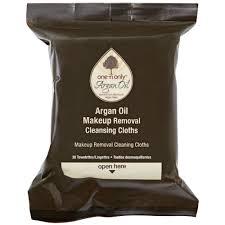 one u0027n only argan oil makeup removing wipes