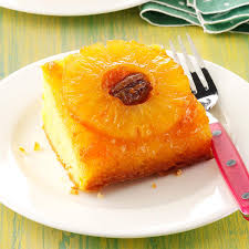 easy pineapple upside down cake recipe taste of home
