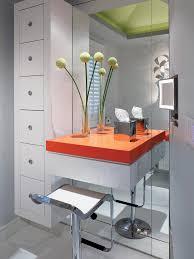 single bathroom vanity with makeup area bathroom decoration