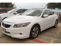 2008 honda accord ex l coupe 2008 honda accord ex l 2dr coupe 5a in fort worth tx g8 auto