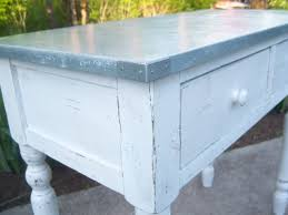 Diy Kitchen Table Top by Best 25 Zinc Table Ideas Only On Pinterest Concrete Table Top
