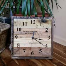 personalized anniversary clocks personalized anniversary clock laser engraved wedding clock