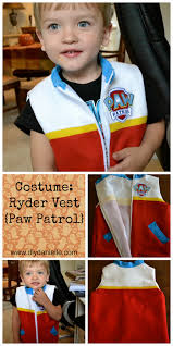 max and ruby costumes for halloween halloween costume ryder vest from paw patrol diy danielle
