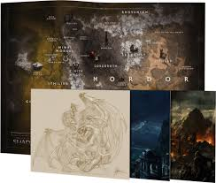 Map Of Mordor Middle Earth Shadow Of War Mithril Edition Only At Gamestop For