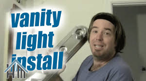 How To Replace A Bathroom Light Fixture How To Replace A Vanity Light Fixture In Your Bathroom Easy