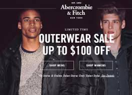 abercrombie fitch black friday canada