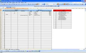 Spreadsheet Examples Excel Excel Spreadsheet For Monthly Business Expenses Greenpointer Us