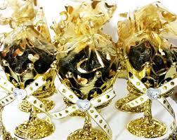 Royal Prince Decorations 12 New Gold Basket Design Favors Royal Prince Baby Shower
