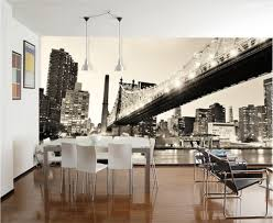 compare prices on 3d wall mural manhattan online shopping buy low custom photo 3d wallpaper non woven mural manhattan bridge scenery 3d wall murals wallpaper for