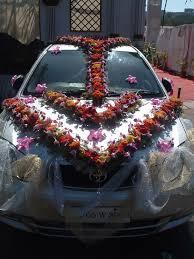 indian wedding car decoration wedding car flower decorations wedding decoration ideas gallery