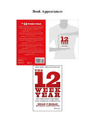 12 week year book pdf the 12 week year get more done in 12 weeks than other