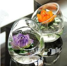 Wholesale Glass Flower Vases Wholesale Decorative Flower Vase Round Glass Bowl Vase Buy Round