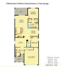 2 Car Garage Sq Ft Patio Homes Arborwood Preserve