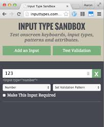 html input pattern safari android phone numeric keyboard for text input stack overflow