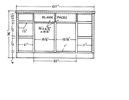 kitchen cabinet standard sizes
