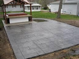 Concrete Patio Designs Layouts Concrete Patio Designs Photogiraffe Me