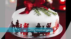 Christmas Cake Decorations Leicester by Traditional Cakes Youtube